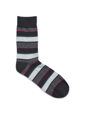 THIN STRIPES AND BLOCKS SOCKS