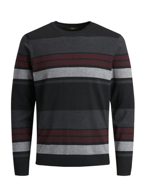 FAST STRIPED PREMIUM SWEATER