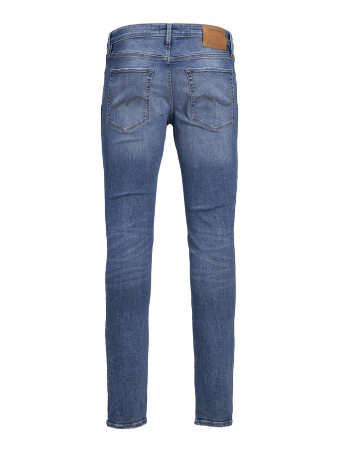 GLENN AM 929 50SPS STRETCH SLIM FIT JEANS BLUE DENIM