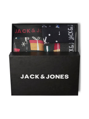 CHRISTMAS SOCKS & BOXERS GIFT BOX