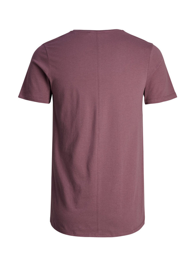 PREMIUM SLIM FIT LONG T-SHIRT ROSE TAUPE