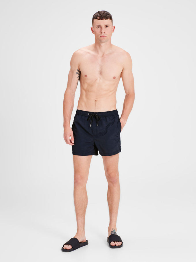 BASIC SWIM SHORTS NAVY BLAZER