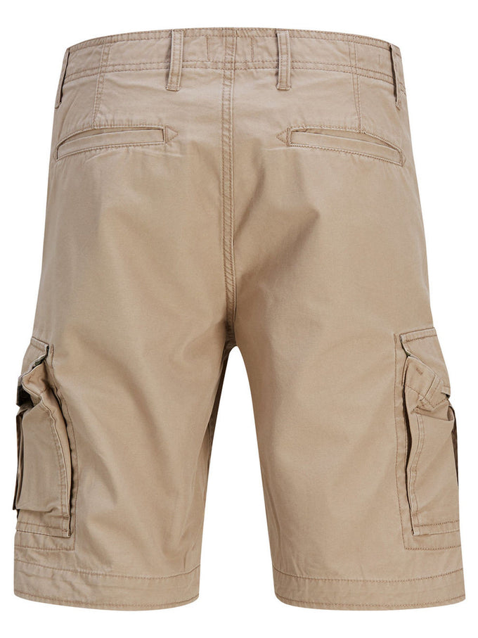 CLASSIC PRESTON CARGO SHORTS CHINCHILLA