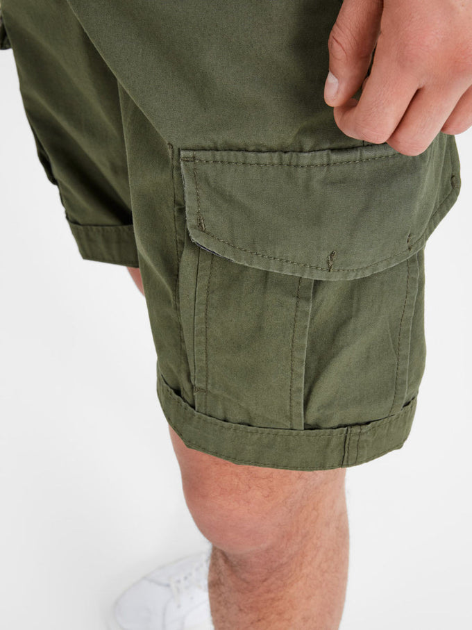CLASSIC PRESTON CARGO SHORTS OLIVE NIGHT