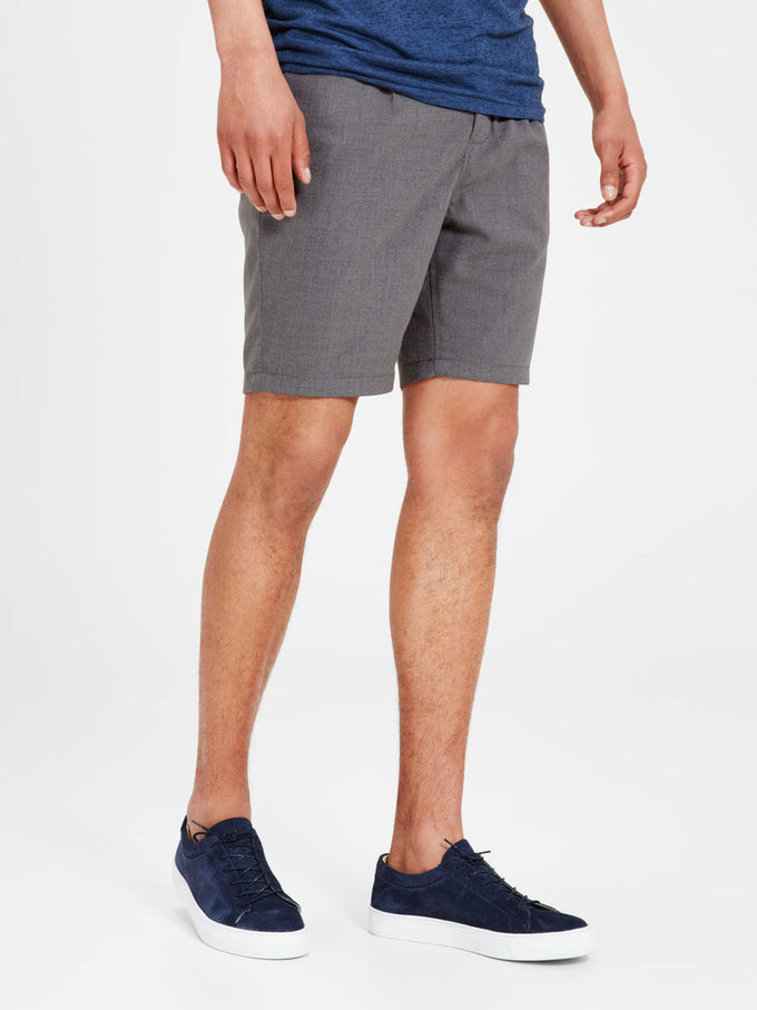 ANTI FIT CHINO SHORTS CHARCOAL GREY