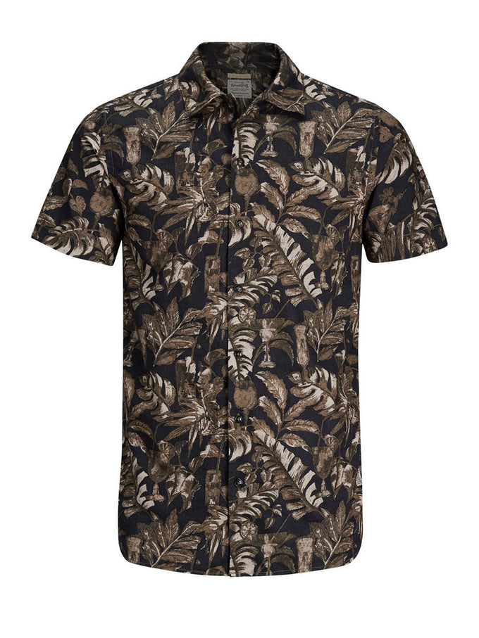 CHEMISE STYLE TROPICAL D'HAWAII CAVIAR