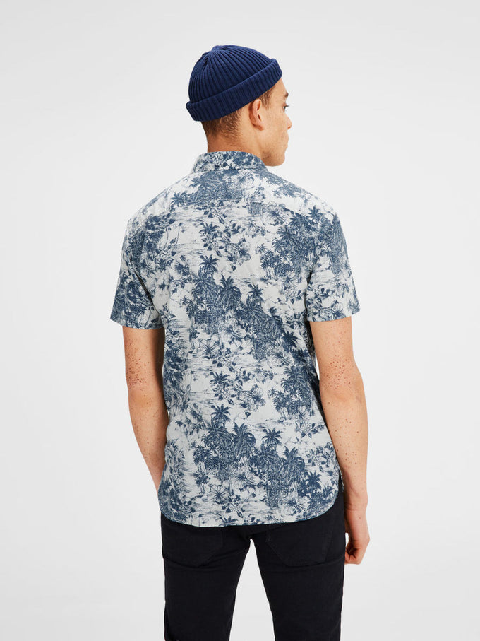 HAWAIIAN STYLE SHIRT CLOUD DANCER