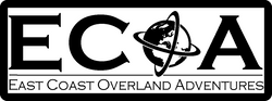 East Coast Overland Adventures Sticker