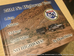 2016 No Highways Tour book