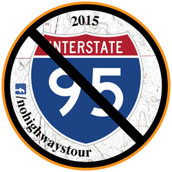 2015 No Highways Tour Sticker