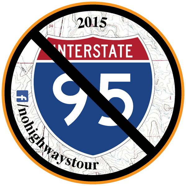 2015 No Highways Tour Patch