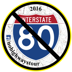 2016 No Highways Tour Sticker