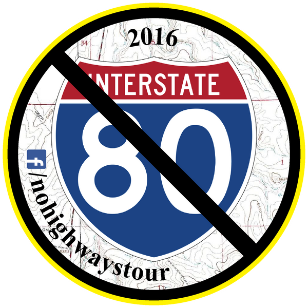 2016 No Highways Tour Patch