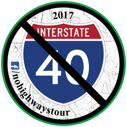 2017 No Highways Tour Sticker