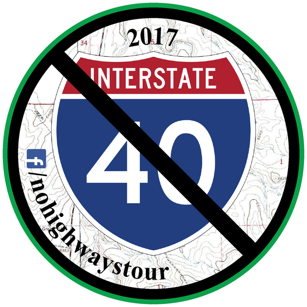 2017 No Highways Tour Patch