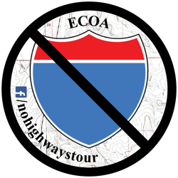 No Highways Lifestyle Sticker
