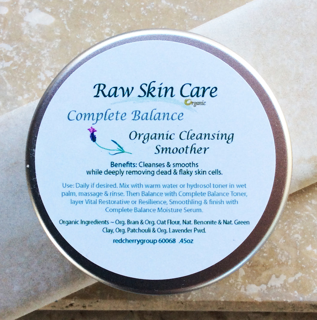 Complete Balance .45oz Smoothing Scrub for Oily Combination and Occassional Breakout Skins