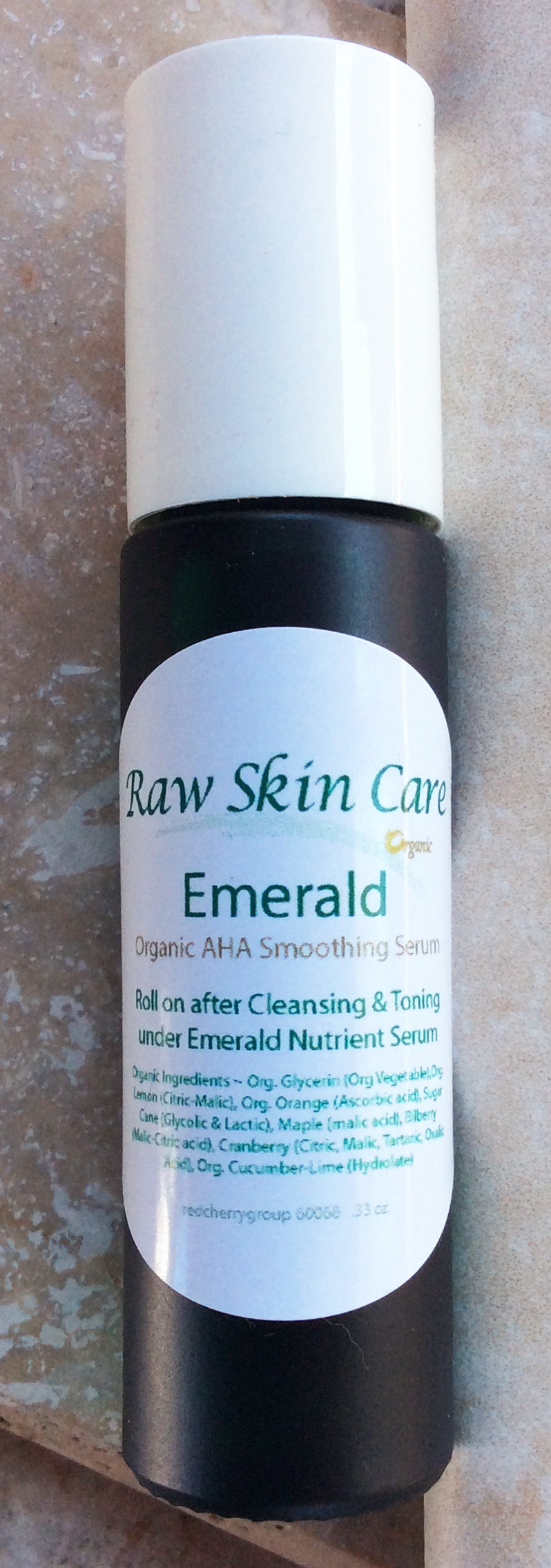 Emerald Organic AHA Exfoliation .45oz. Serum for All Skin
