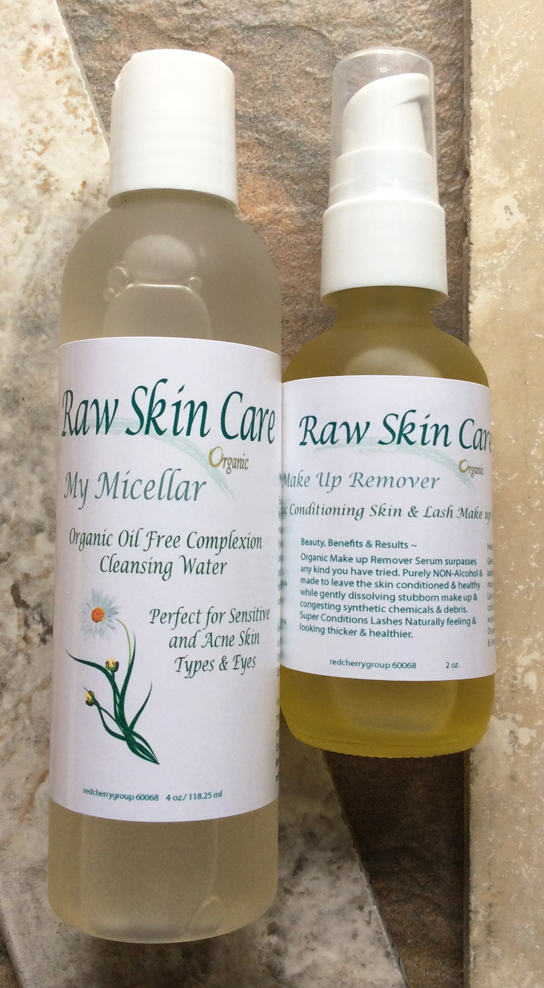 Perfect Duo Organic Makeup Removers for Sensitive Skin