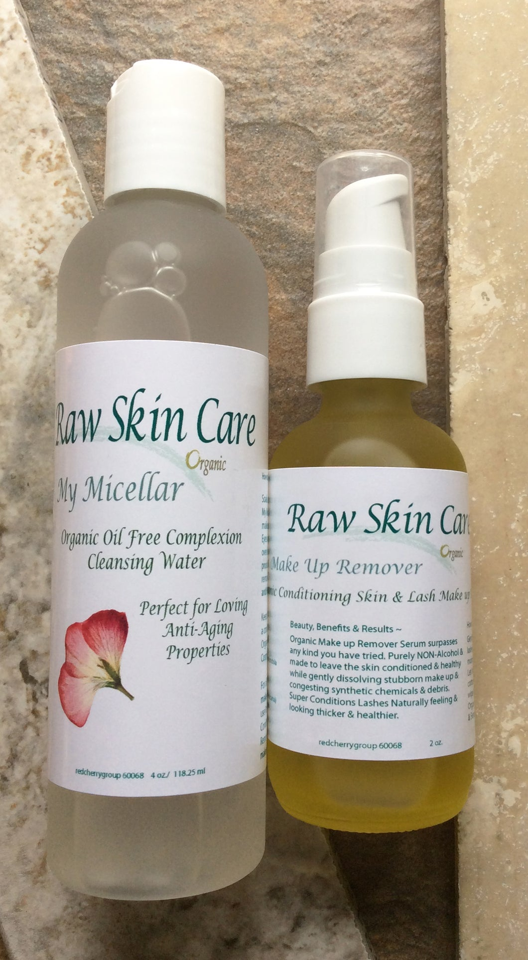 Perfect Duo Organic Make Up Remover for Anti-Aging