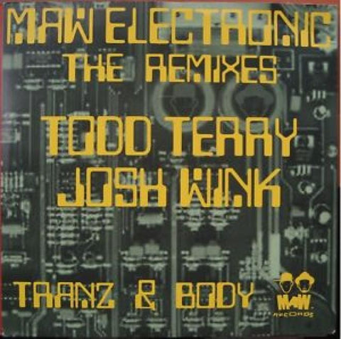 "Maw Electronic: The Remixes - Tranz & Body 12"" 2LP"