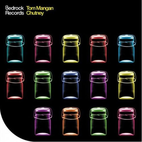"Bedrock Records - Tom Mangan & Chutney 12"" LP"