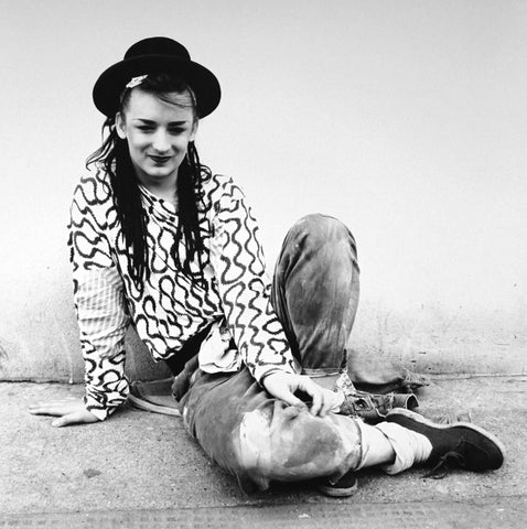 Boy George wearing World's End Pirate Top