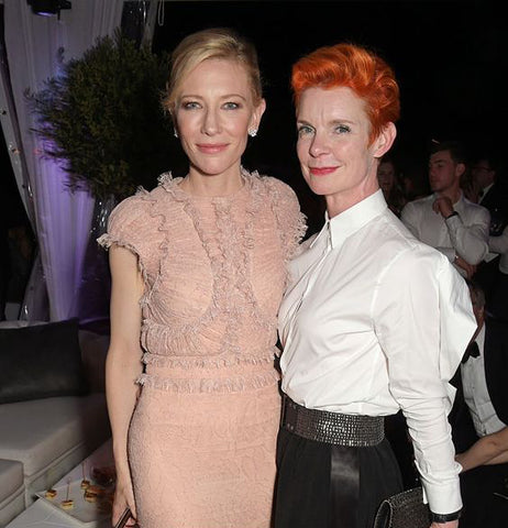 Sandy Powell in Jean Paul Gaultier