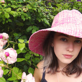 Zimmermann Sun Hat in Shocking Pink worn by Edie