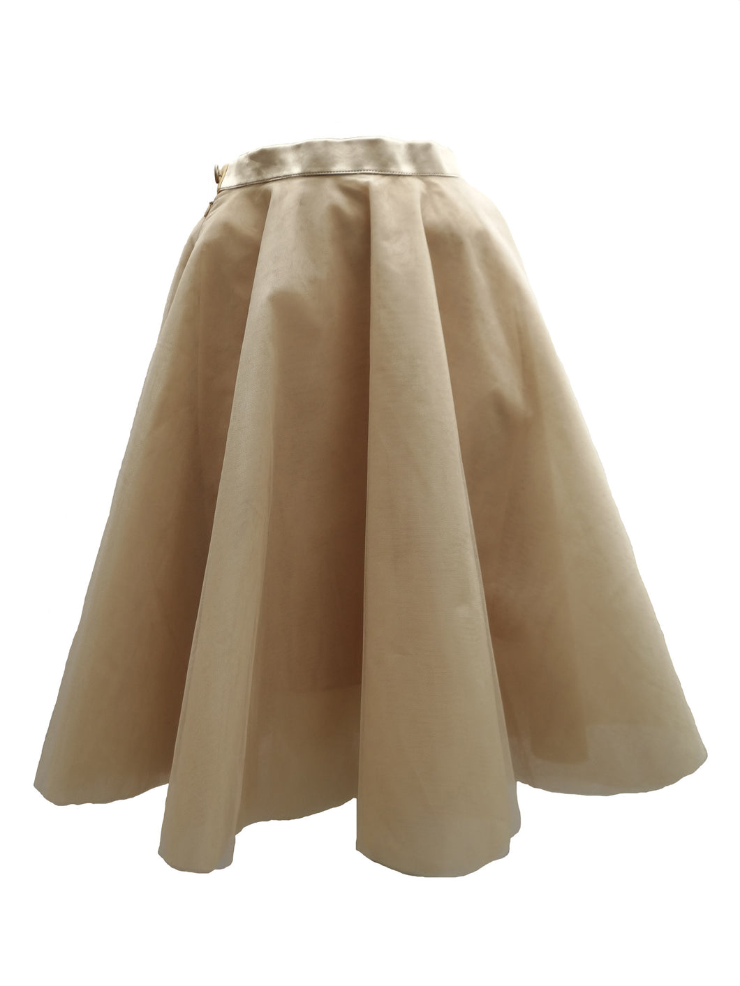 Ballerina Skirt in Ivory Tulle UK10