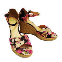 Paul Smith Floral Silk Espadrille Wedges, EU40