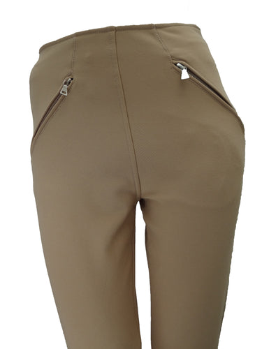 Prada Camel Jodhpur Trousers with Stirrup UK8-10