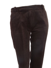 Marni Chocolate Brown Needlecord Trousers UK10