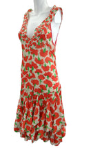 Vintage Sonia Rykiel Floral Summer Dress with Flounces, 1990s, UK10