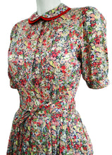 Vintage Liberty Floral Print Shirt Dress, early 1980s, UK10-12