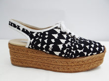 Stella McCartney Rope Soled Lace-up Summer Shoes with Heart Print, UK7