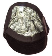 Paul Smith Brown Velvet Urchin Cap L