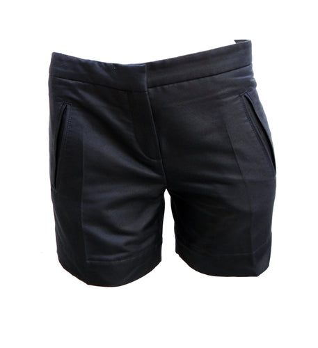 Balenciaga Tailored Navy Blue Shorts, UK10