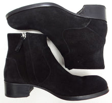 Mr Hare Black Suede Ankle Boots UK6