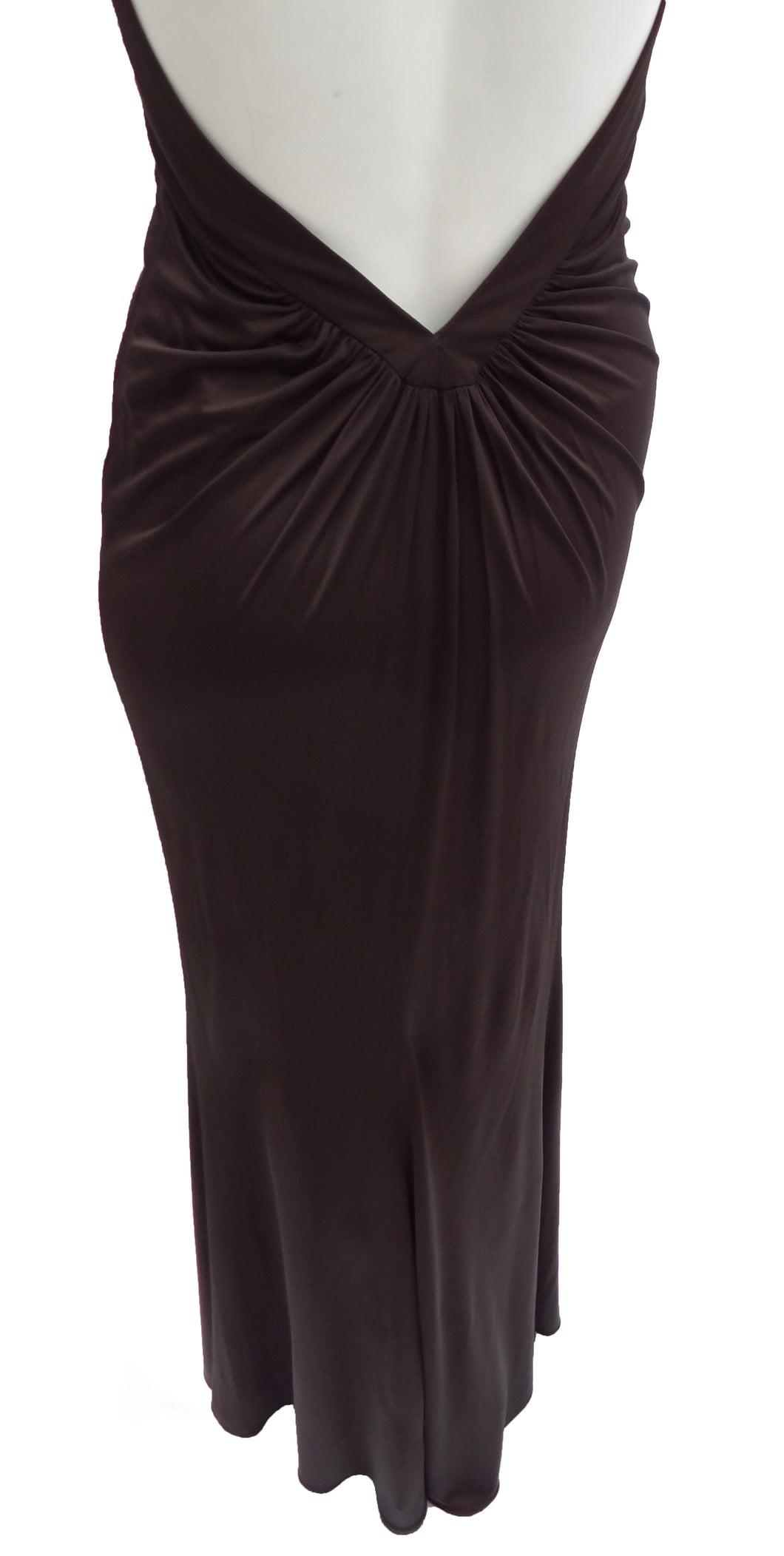 Gucci Halterneck Long Evening Gown UK10