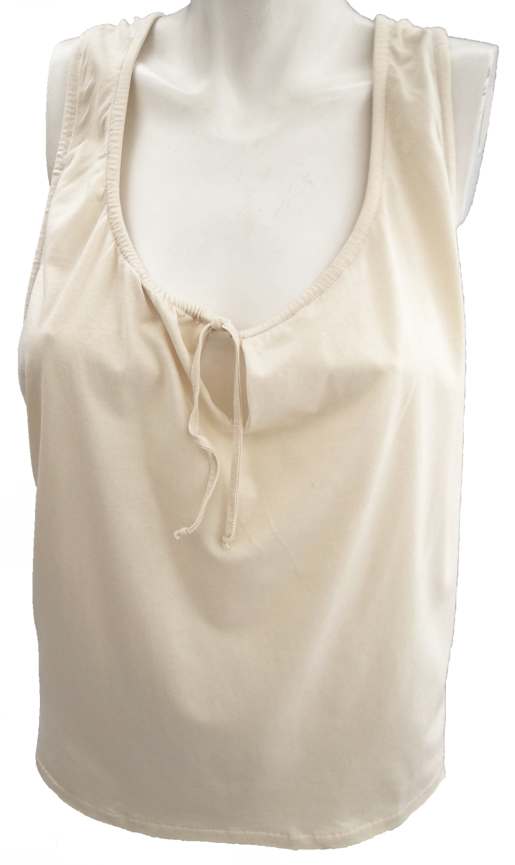 Marni Strappy Sun Top in Natural Cotton UK10-12