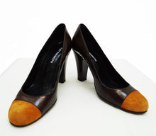 Eley Kishimoto Bronze and Ochre Court Shoes UK5 1/2