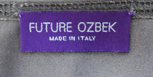 Future Ozbek Gunmetal Shift Dress, UK14