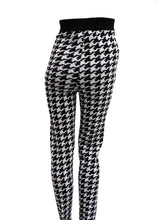 Byblos Vintage Leggings in Oversize Houndstooth Check, UK10