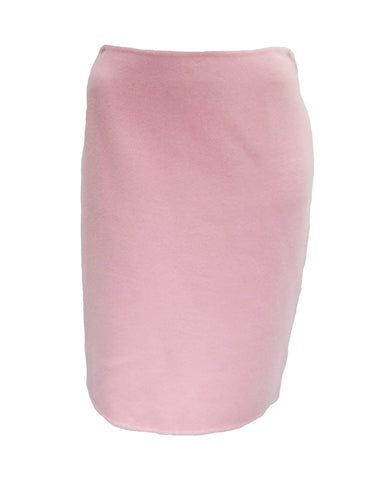 Ralph Lauren Pencil Skirt in  Candy Floss Pink Felted Wool and Cashmere, UK12