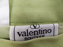 Valentino Vintage Pencil Skirt in Absinthe Green Cotton, UK10