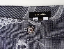 Escada Jeans with Chain and Belt Pattern, UK12