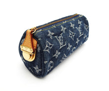 Louis Vuitton Vintage Monogrammed Denim Pencil Case