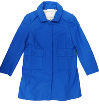 Philip Lim Summer Short Coat in Electric Blue Cotton Drill, UK8