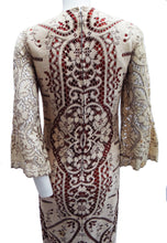 Vintage Quorum Caftan-style Lace Wedding Dress, 1964, UK8